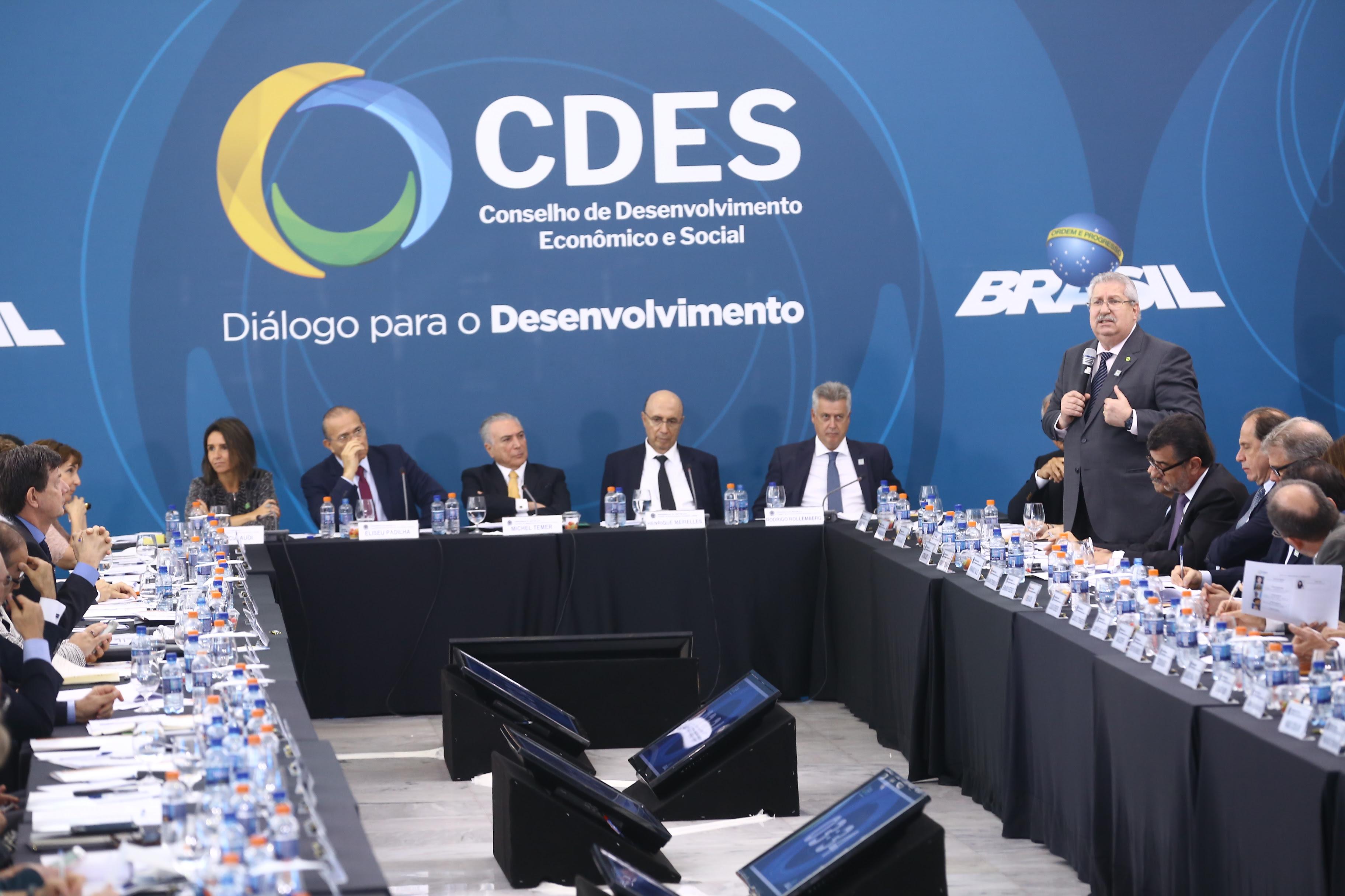 Antônio Neto toma posse em nova composição do Conselhão da Presidência da República