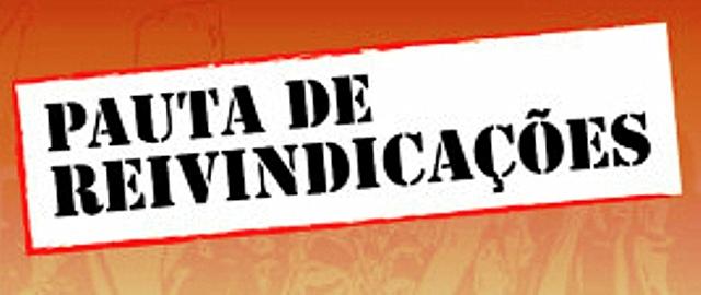 PAUTA DE REIVINDICAÇÃO 2017