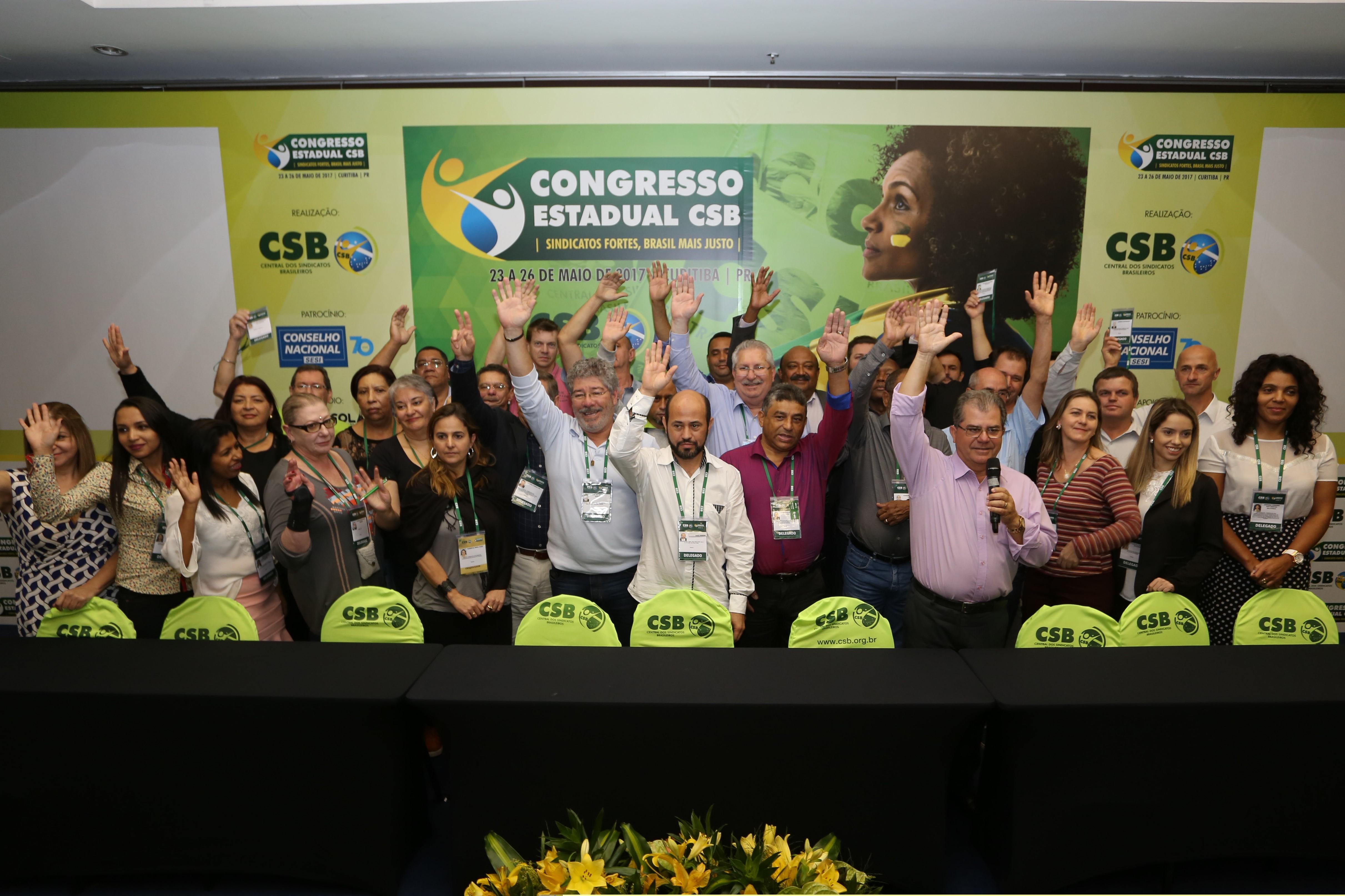 CSB – Seccional Paraná elege nova diretoria e reafirma o compromisso com as lutas em favor dos trabalhadores