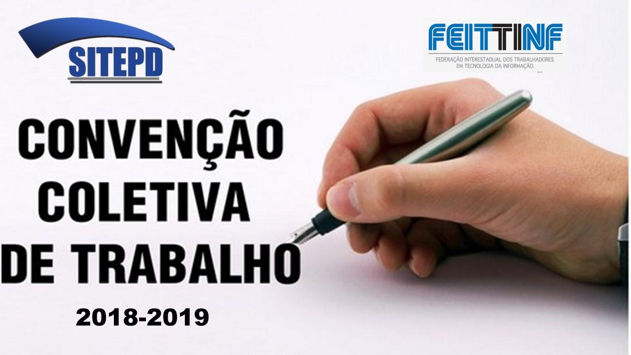 CONVENÇÃO COLETIVA DE TRABALHO 2018 2019